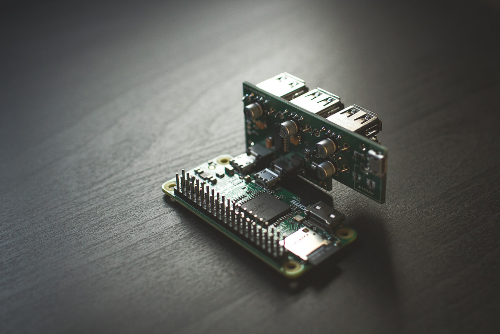 Connceted to Pi Zero