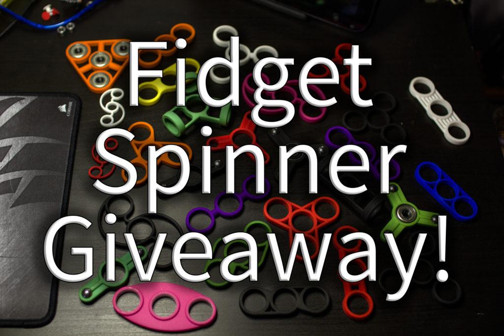 Fidget Spinner Giveaway
